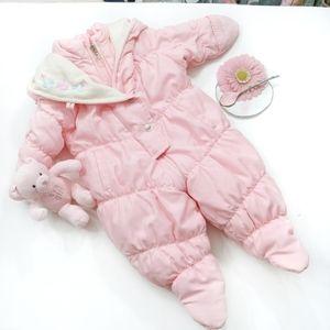 Osh Kosh Baby Snowsuit Bunting Size 0-6 Months